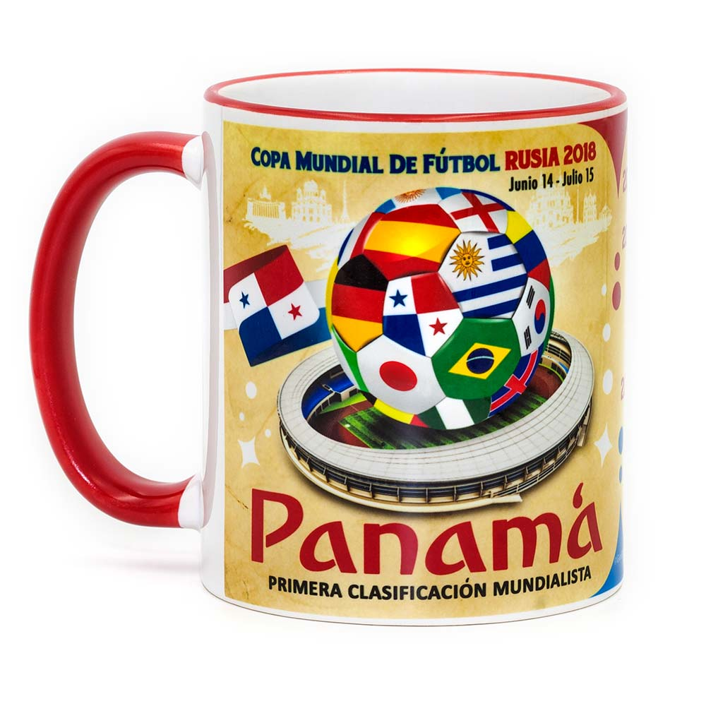 "Panama ""The Road To Russia 2018"" Mug - gio-gifts"
