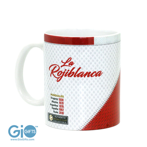 PERU, The Road To The World Cup, Russia 2018 Jersey Coffee Mug - gio-gifts