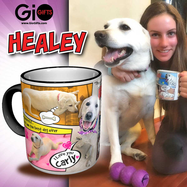 Healey Dog Mug | Gio Gifts