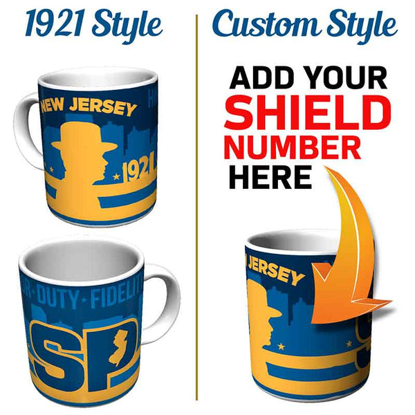New Jersey State Police Coffee Mug - gio-gifts