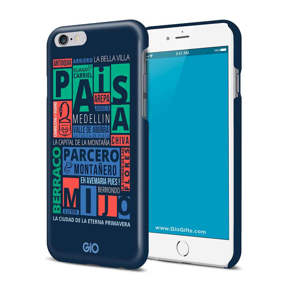 Paisa, Medellin PHONE CASE | GioGifts.com
