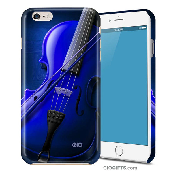 Blue Virtuoso Violin Phone Case | GioGifts.com