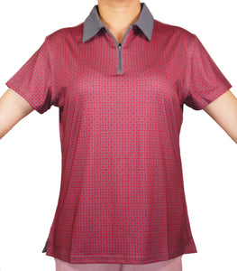 Women's 1/4 Zip Fashion Polo