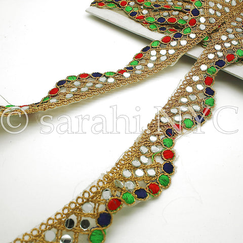 MULTI-COLOR MIRROR EDGING TRIM - sarahi.NYC