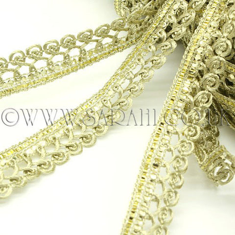 GOLD WOVEN THIN TRIM - sarahi.NYC - Sarahi.NYC