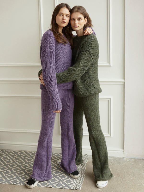 Giedre Dukauskaite knitwear for The Knotty Ones