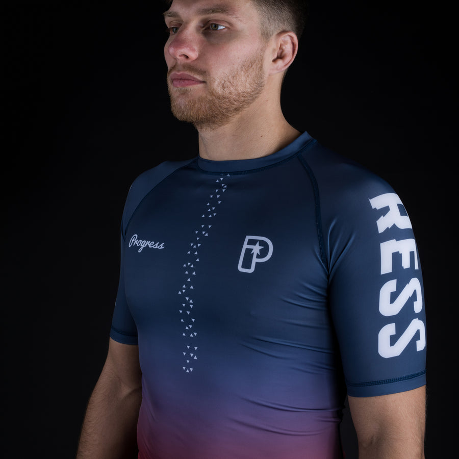 Sportif Gradient Rash Guard