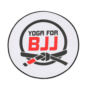 Yoga for BJJ round patch