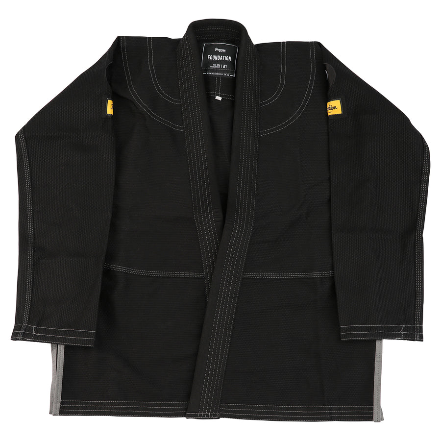 The Foundation Ladies Kimono - Black