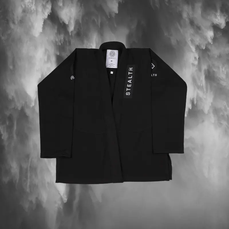 Stealth x Progress Adult BJJ Gi - Black
