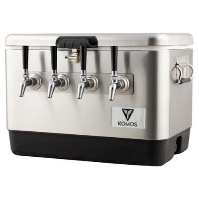 Komos Stainless Steel Draft Box (4 Tap)