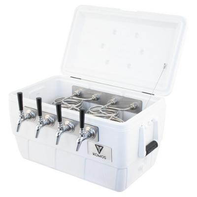 Komos Marine Ultra Cooler Draft Box (4 Tap)