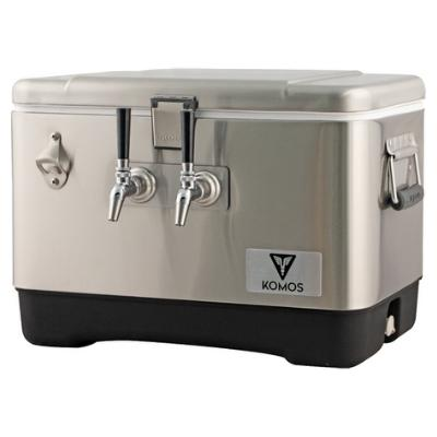 Komos Stainless Steel Draft Box (2 Tap)
