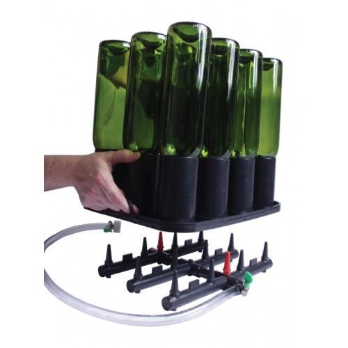 Brewmaster Bottle Washers Bottle Rinsing or Purging Rack