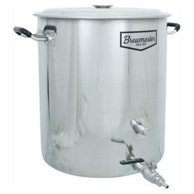 Brewmaster Brewing Kettles Brewmaster - 14 Gallon Stainless Steel Brew Kettle
