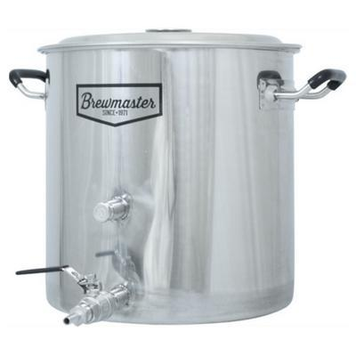 Brewmaster Brewing Kettles Brewmaster - 8.5 Gallon Stainless Steel Brew Kettle