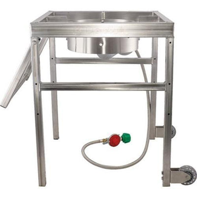 Brewmaster Burners & Gas Fittings BrewBuilt AfterBurner with Handle and Casters