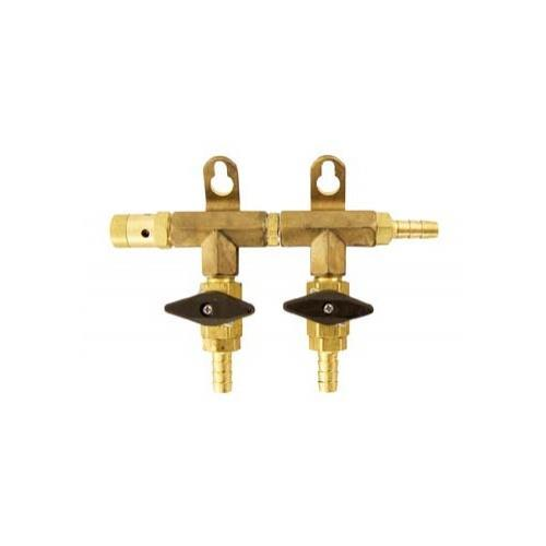 Brewmaster C02 Regulators Gas Manifold - 2 Way