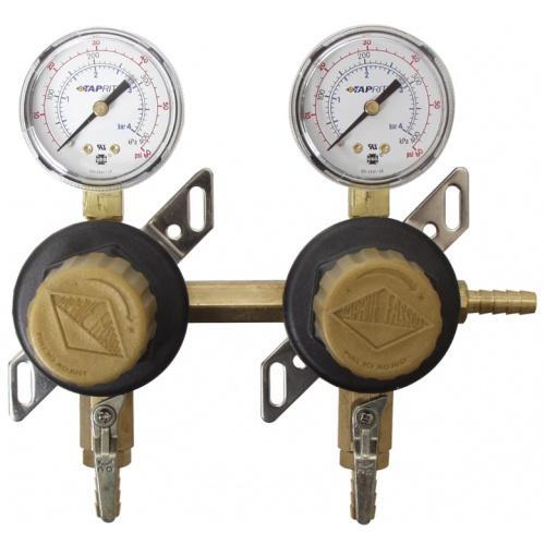 Brewmaster C02 Regulators Secondary Regulator (2 Way)