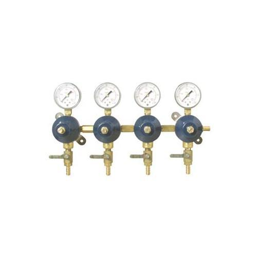 Brewmaster C02 Regulators Secondary Regulator (4 Way)