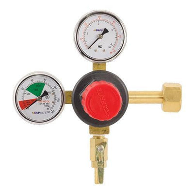 Brewmaster C02 Regulators Taprite Dual Gauge CO2 Regulator