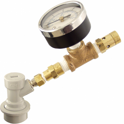 Brewmaster Draft Beer Parts Spunding Valve - Ball Lock