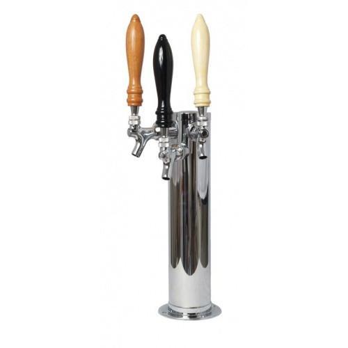 Brewmaster Draft Beer Towers Draft Beer Tower - 3 Faucet