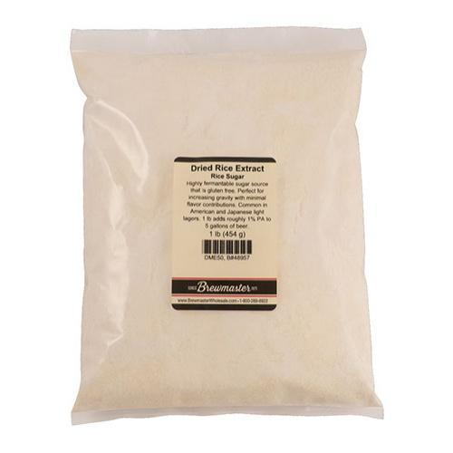 Brewmaster Dry Malt Extract Dried Rice Extract