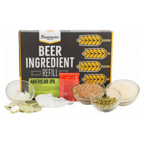 Brewmaster Ingredient Kits - 1 Gal Beer Ingredient Refill Kit (1 Gal) - American IPA