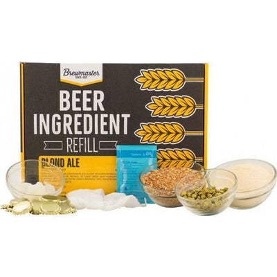 Brewmaster Ingredient Kits - 1 Gal Beer Ingredient Refill Kit (1 Gal) - Blonde Ale