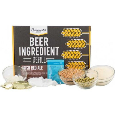 Brewmaster Ingredient Kits - 1 Gal Beer Ingredient Refill Kit (1 Gal) - Irish Red