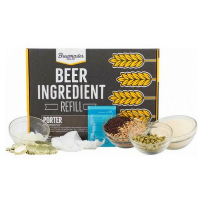Brewmaster Ingredient Kits - 1 Gal Beer Ingredient Refill Kit (1 Gal) - Porter
