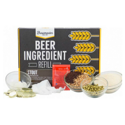 Brewmaster Ingredient Kits - 1 Gal Beer Ingredient Refill Kit (1 Gal) - Stout