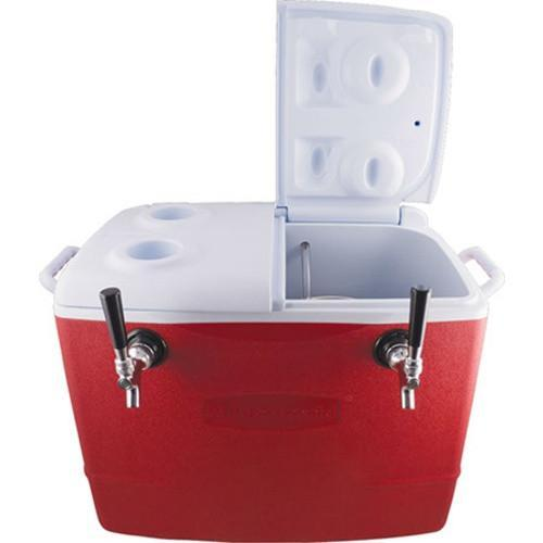 Brewmaster Jockey Boxes Draft Jockey Box - 2 Faucet