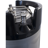 Brewmaster Kegs 5 Gallon Cornelius Ball Lock Keg