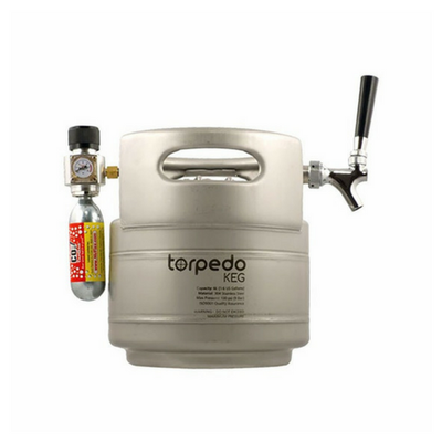 Brewmaster Kegs and Brite Tanks The Torpedo Keg Party Bomb