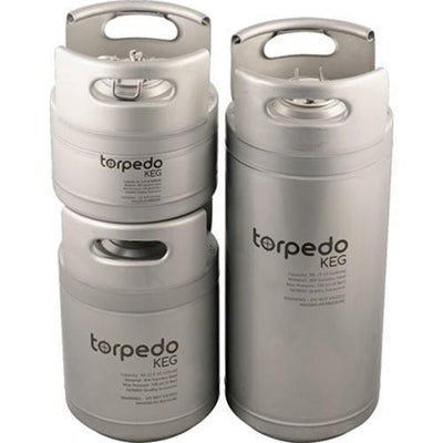 Brewmaster Kegs and Brite Tanks Torpedo Ball Lock Kegs