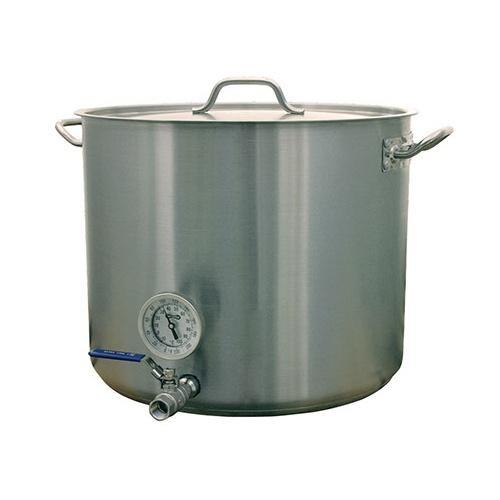 Brewmaster Mash Tuns Stainless Steel Heavy Duty Mash Tun - 15 Gallon