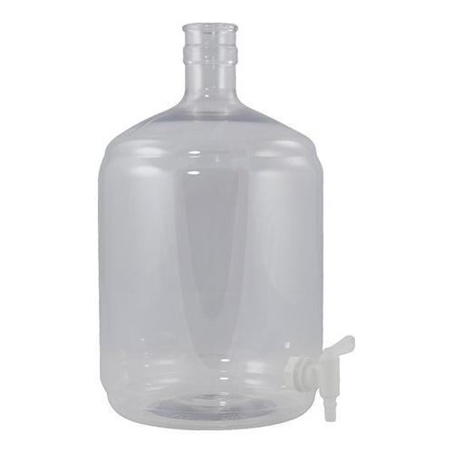 Brewmaster Plastic Carboys Plastic PET Carboy - 6 Gallon Ported with Spigot