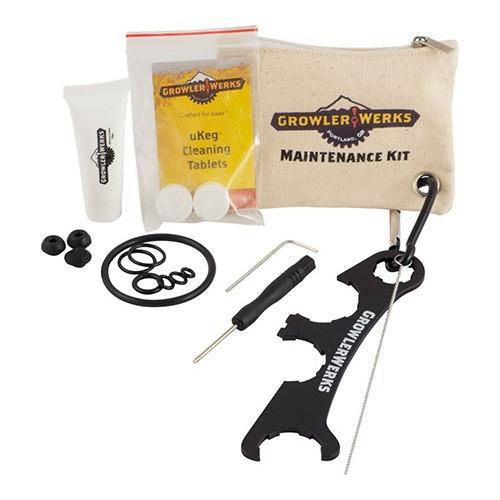 Brewmaster Pressurized Growlers GrowlerWerks uKeg Maintenance Tool Kit