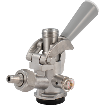 Brewmaster Taps Stainless Steel D Style Sanke Tap Coupler