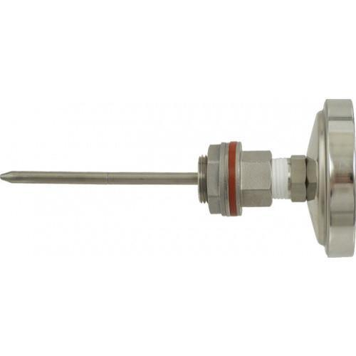 Brewmaster Weldless Fittings Stainless - Weldless Thermometer (6 in.)