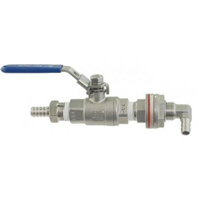 Brewmaster Weldless Fittings Stainless - Weldless Whirlpool Arm