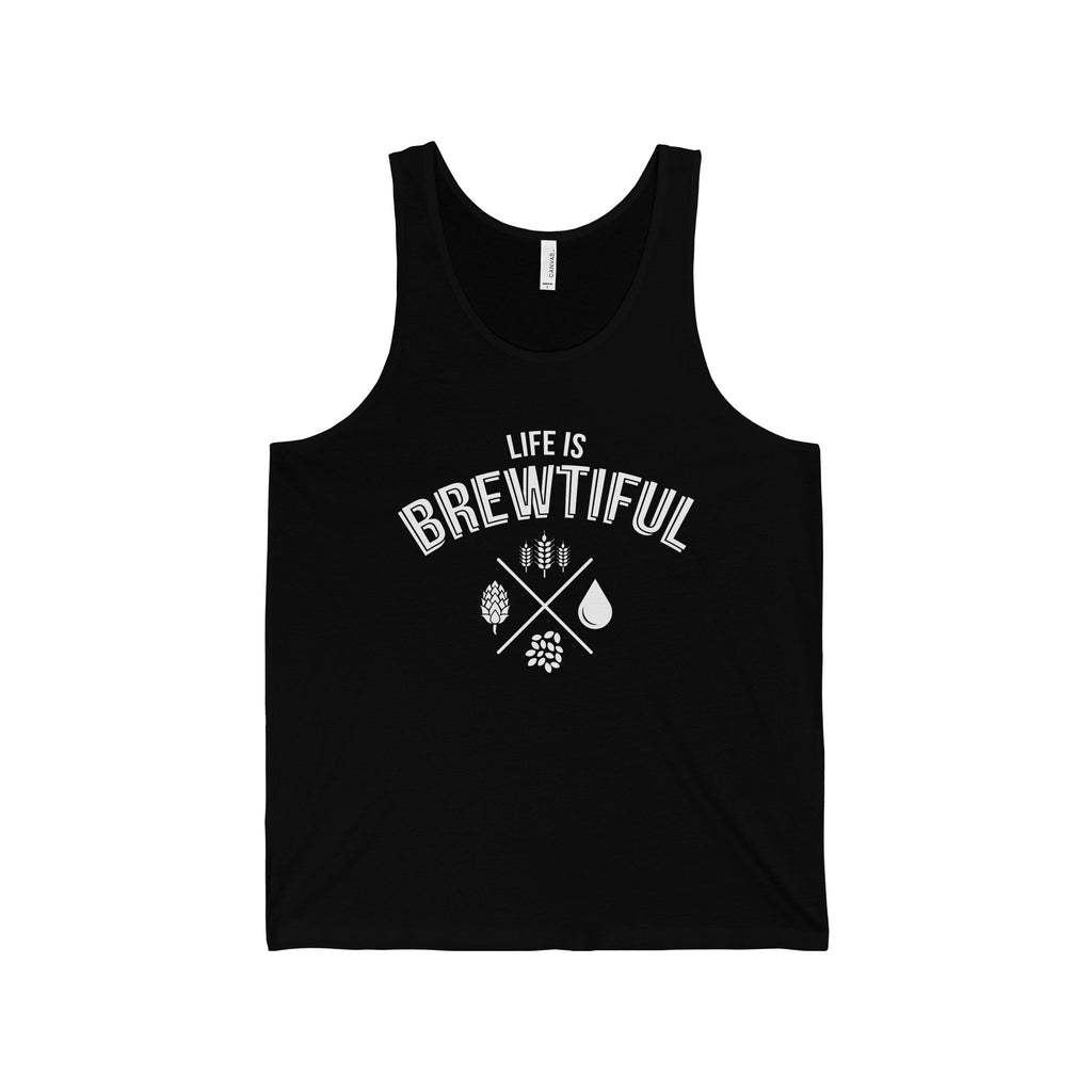 CRAFTR Mens Tanks Black / S Brewtiful Mens Jersey Tank (7 Colors Available)