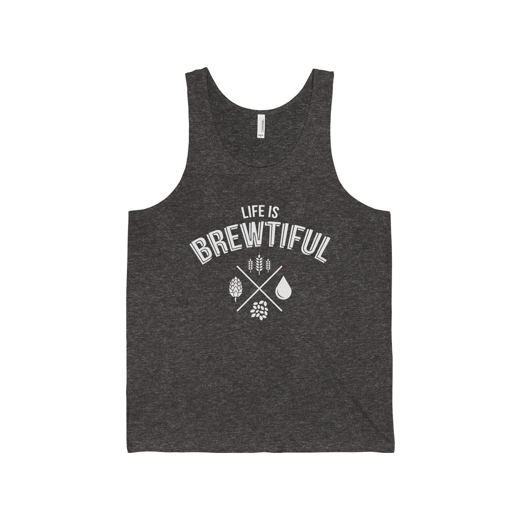 CRAFTR Mens Tanks Charcoal Black TriBlend / S Brewtiful Mens Jersey Tank (7 Colors Available)