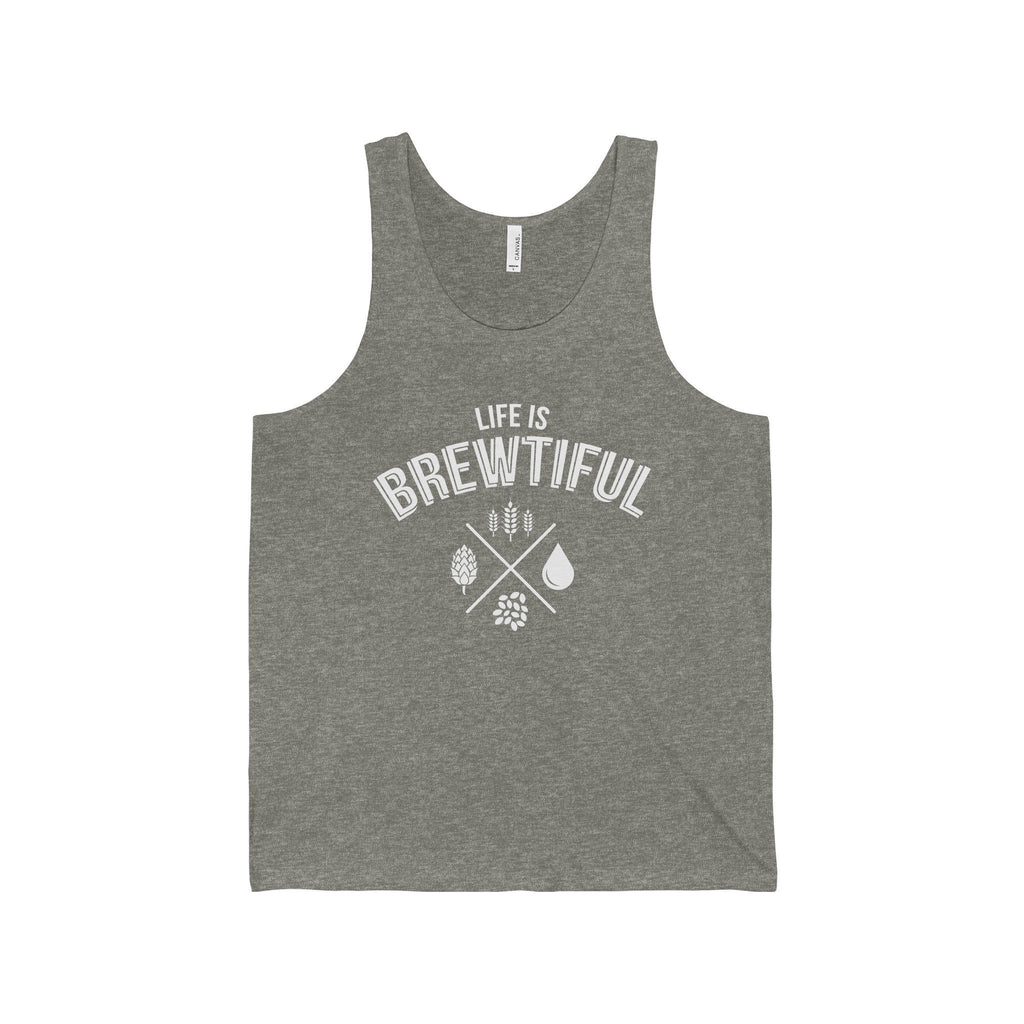 CRAFTR Mens Tanks Grey TriBlend / S Brewtiful Mens Jersey Tank (7 Colors Available)