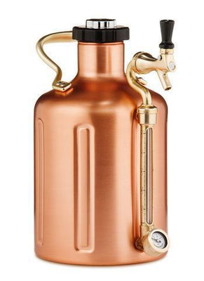 GrowlerWerks Pressurized Growlers GrowlerWerks 128 oz Pressurized Growler - Copper