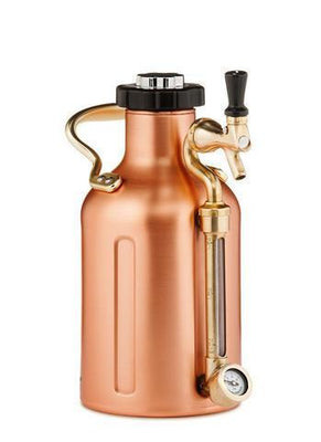 GrowlerWerks Pressurized Growlers GrowlerWerks 64 oz Pressurized Growler - Copper