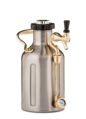 GrowlerWerks Pressurized Growlers GrowlerWerks 64 oz Pressurized Growler - Stainless