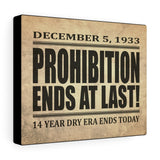 Printify Canvas Prints 10″ × 8″ Prohibition Canvas Print